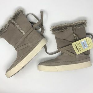 Toms vista waterproof suede tan